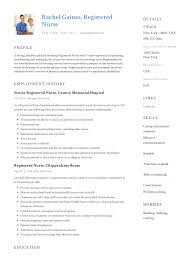 Nursin Resume Registered Nurse Resume Sample Writing Guide