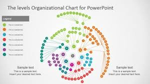 Org Chart Visualization Multi Level Circular Organizational Chart Template