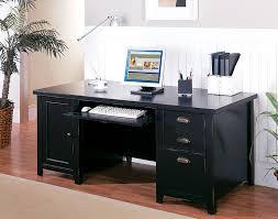 black glass corner computer desk uk black computer desks
