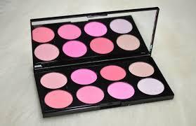 makeup revolution all about pink ultra blush palette