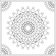 Discover This Beautiful Coloring Page Nice Mandala For Kids Orll
