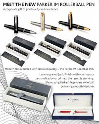 Creative Promotions. MEET THE NEW PARKER IM ROLLERBALL ...