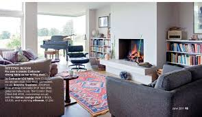 Persian Rug Living Room Oriental Rug In Contemporary Interiors L Essenziale