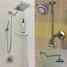signature 9 inch adjule height shower head arm shower arm extension signature adjule height shower head