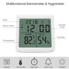 Karrong Digitales Thermometer Hygrometer Innen Digital Thermo