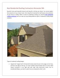 Four Sided Roof Design Best Residential Roofing Contractors Worcester Ma By