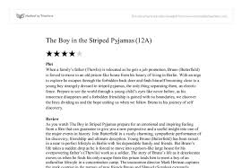 boy in the striped pyjamas essay boy in the striped pyjamas essay planning part 1