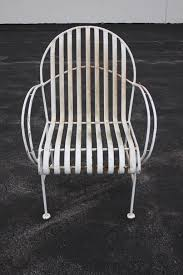 nice pair of woodard wrought iron patio chairs these chairs appear to have the original