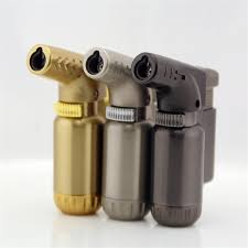 <b>Free Shipping Compact</b> Butane <b>Jet</b> Lighter Torch Turbo Lighter Fire ...