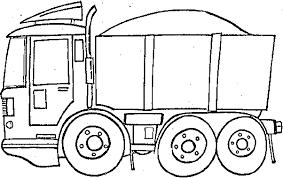 Disegni Da Colorare E Stampare Gratis Camion Fredrotgans