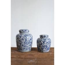 White Ceramic Decorative Accessories Unique White Jars Urns Pots Decorative Accessories Bellacor