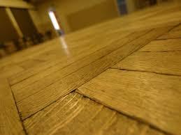aged hardwood floor