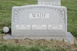 Grover Cleveland Wade (1885-1957) - Find A Grave Memorial