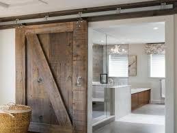 Image of: Barn Doors for Bathroom