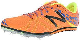 new balance running shoes orange. new balance men\u0027s mmd500v3 middle distance spike running shoe,orange/blue,7.5 d shoes orange e