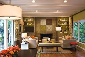 family room couches sunroom in family room traditional with bookcase accent wall accent lighting family room