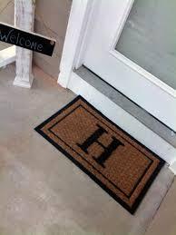 Home Decoration: Cutom Personalized Monogram Doormat Design ...