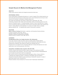 9 Healthcare Resume Objectives Applicationleter Com