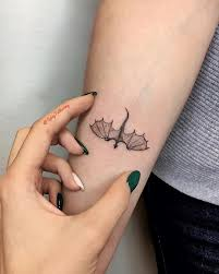 Dragon Mini Tattoo Inspired By Game Of Thrones Got Made By