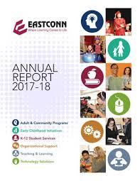 Eastconn Annual Report 2017 2018 Pdf By Eastconn Issuu