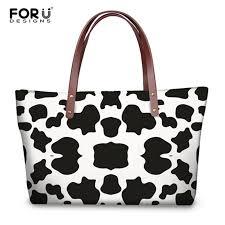 <b>FORUDESIGNS</b> New <b>Fashion Women's handbags</b> Cow Lover ...