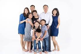 Family Portrait In Singapore Family Photoshoot