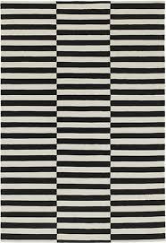 ikea stockholm rug stripe off white black off white