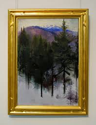 abbott handerson thayer monadnock in winter at the currier museum manchester nh high res to see it close