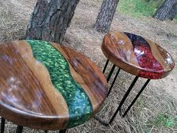 river tables wood coffee tables resin