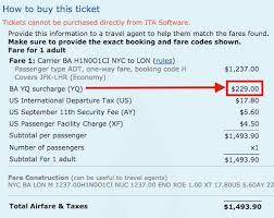 When Does British Airways Add Fuel Surcharges To Avios
