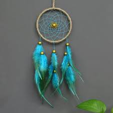 antique enchanted forest dreamcatcher gift handmade dream catcher net with feathers wall hanging decoration ornament
