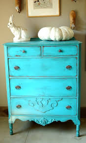 shabby chic distressed furniture. Antique Shabby Chic Painted Dresser Turquoise Blue Distressed Paint Furniture D
