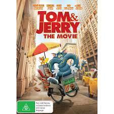 Tom & Jerry 2021 DVD