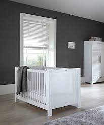 Nursery white furniture Beige Silver Cross Notting Hill 3piece Nursery Furniture Set With Double Wardrobe White Mothercare Nursery Furniture Sets Mothercare