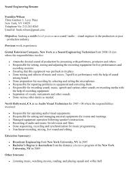Audio Video Technician Resume Sales Technician Lewesmr. sample ...