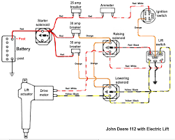 wiring diagram for john deere 112 series number307908m full size image