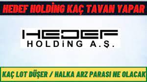 HEDEF HOLDİNG KAÇ TAVAN YAPAR - Hedef Holding halka arz İncelemesi - YouTube