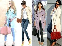 pastel coat collection of trench coats for women is available at varying styles designs cut