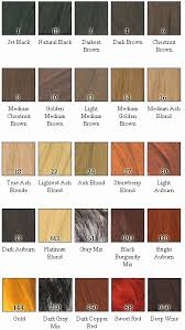 One N Only Argan Oil Permanent Hair Color Chart Lajoshrich Com