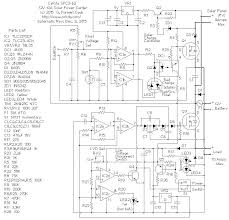 spc3 9 amp in 10 amp out solar power center spc3b2 schematic