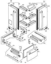 Kenmore elite refrigerator parts model 79575194400 sears partsdirect rh searspartsdirect kenmore appliance parts diagrams sears
