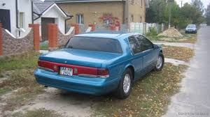 1996 Mercury Cougar - Information and photos - ZombieDrive