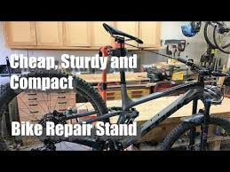 compact bicycle maintenance stand