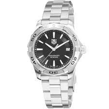 tag heuer men s carrera analog display swiss automatic silver watch tag heuer men s aquaracer black dial watch