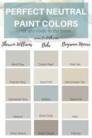 watery paint colorNeutral Paint Colors  Choose Color  Sheen for Walls