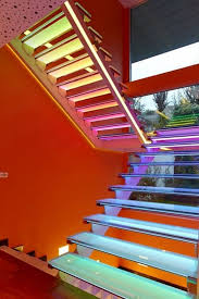 led lighting design. colorful house ideas yazgan design architecture amazing stair with led lighting led n