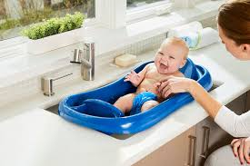 best baby bath tub pick for multiples the first years sure comfort deluxe newborn to toddler tub