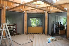 diy container cabin kit cutting metal walls