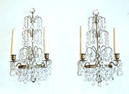 chandelier wall sconce decoration candle sconces holder with crystals kids room delectable onces marvelous matching crystal