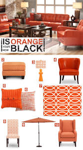 furniture 4 you. is orange your new black? furniture 4 you